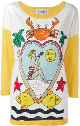 Jc De Castelbajac Pre Owned summer print T-Shirt
