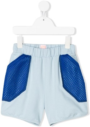 Wauw Capow By Bangbang Inside Out mesh panel shorts