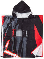Star Wars Kylo Ren Hooded Poncho Towel