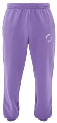 7 Days Active - Monday Logo-print Cotton-blend Track Pants - Purple