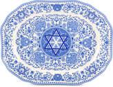 Spode Hanukkah Oval Platter