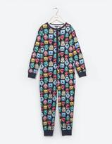Fat Face Glow In The Dark Camping Badge Onesie