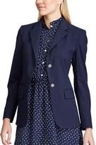 Chaps Women's Solid Blazer
