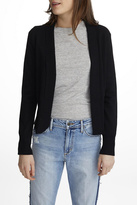 White + Warren Mini Shawl Collar Cardigan
