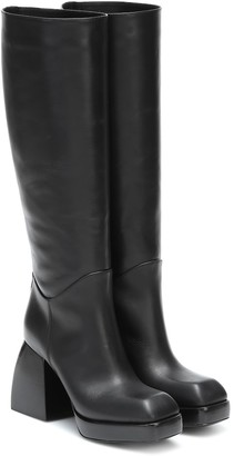 Nodaleto Bulla Solal leather knee-high boots