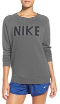 Nike Women's Logo Crewneck Terry Sweatshirt