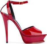 Saint Laurent Tribute 105 peep toe sandals