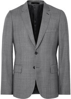 Paul Smith - Grey Soho Slim-fit Checked Wool Suit Jacket