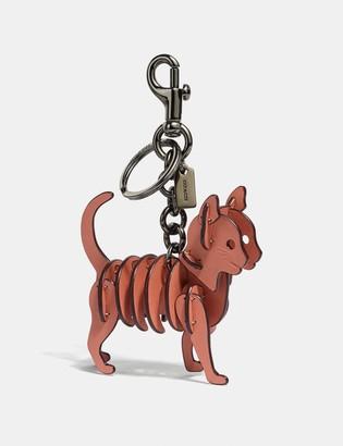 Coach Small Cat Bag Charm