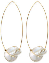 Mizuki 14k Gold Freshwater Pearl Earrings