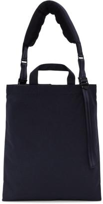 Comme des Garcons Homme Deux Homme Deux Navy Porter Classic Edition Canvas Messenger Bag