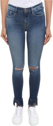 Frame Frayed Edges Jeans