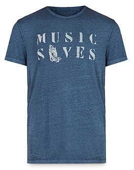 John Varvatos Slim Fit Graphic Tee