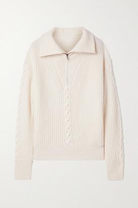 Nili Lotan Angela Cable-knit Cashmere Sweater - Ivory