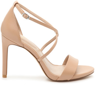 Mix No. 6 Women's Zaydia Sandals Nude Size 5 Faux Leather From Sole Society