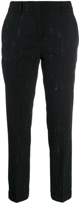 Piazza Sempione Striped Tailored Trousers