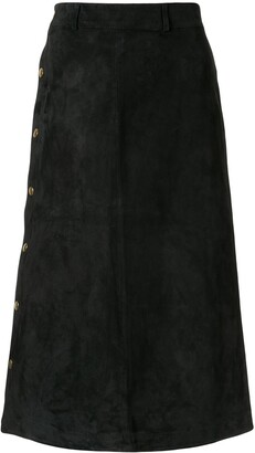 Holiday Tahe straight skirt