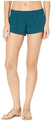 Hurley Supersuede Beachrider (Midnight Turquoise) Women's Shorts