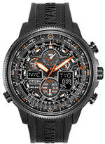 Citizen Eco-Drive Navihawk A-T Stainless Steel Embossed Strap Watch