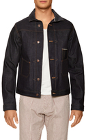 Selvedge Trimmed Cotton Denim Jacket