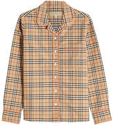 Burberry Printed Cotton Shirt
