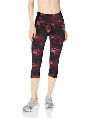 Amazon Essentials Women's Colorblock Performance Mid-Rise Capri Active Legging