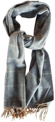 Ermenegildo Zegna Grey Cashmere Scarves & pocket squares