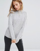 Brave Soul High Neck Sweater