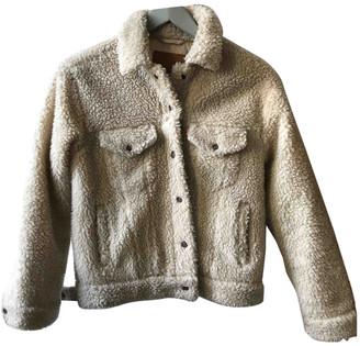 Levi's Beige Faux fur Jackets