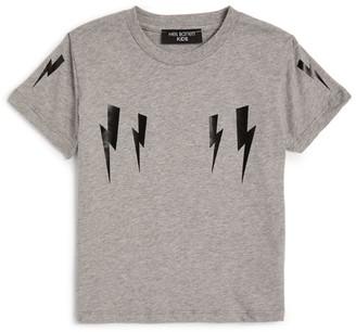 Neil Barrett Winged Bolt T-Shirt (4-14 Years)
