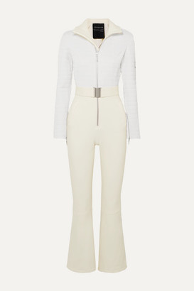 Cordova Verbier Paneled Ski Suit - Cream