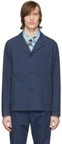 Paul Smith Navy Convertible Collar Jacket