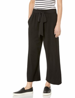 Joan Vass Women's Culottes with Tie Belt