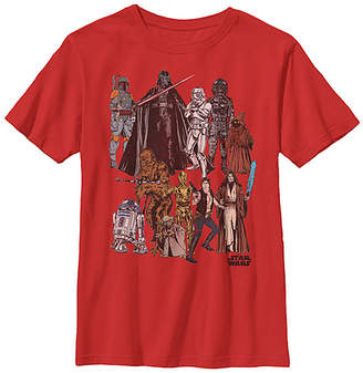 Fifth Sun Boys' Tee Shirts RED - Star Wars Red All Toys Tee - Boys