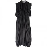 Saint Laurent Grey Viscose Dress