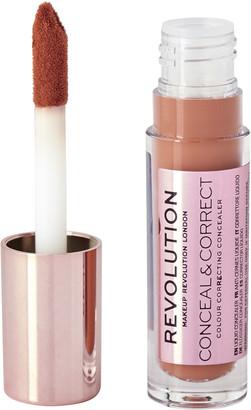 Makeup Revolution Conceal and Correct Concealer Orange