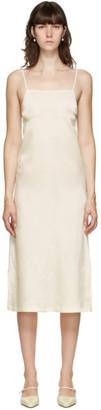 Jil Sander Off-White Slip Long Dress