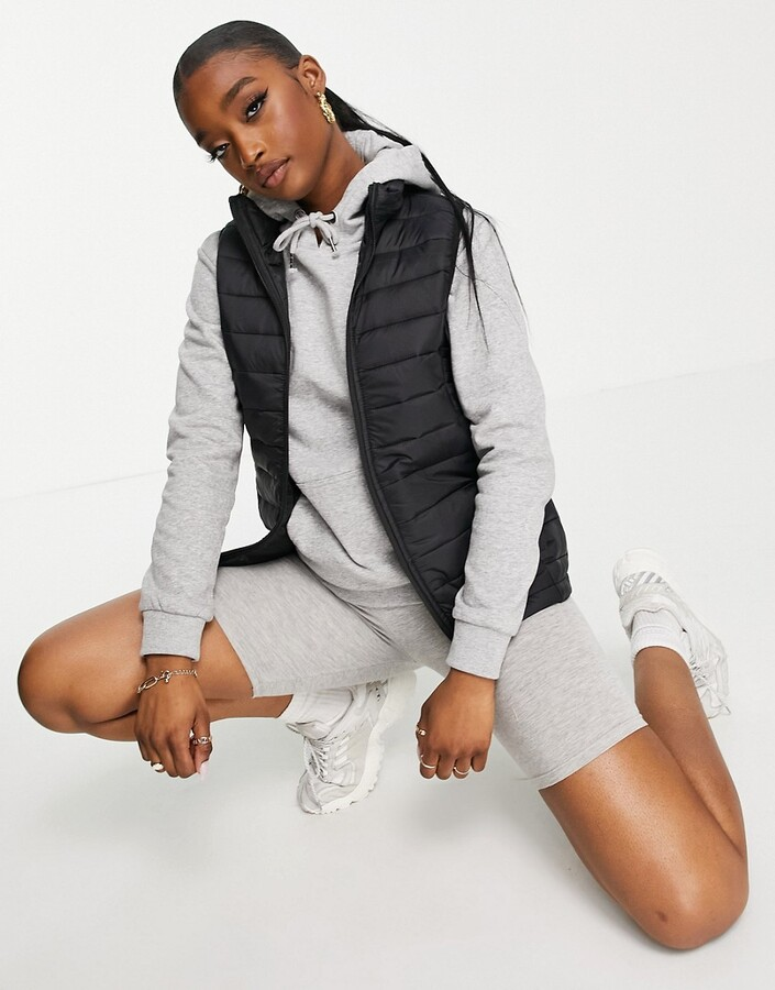 Thumbnail for your product : Brave Soul baxley lightweight padded gilet
