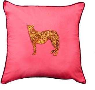 Jessica Russell Flint The Cheetah Velvet Cushion