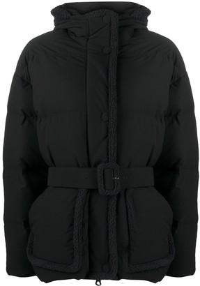 Ienki Ienki Shearling Michlin short coat
