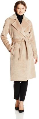 Trina Turk Women's Delaney Long Wrap Coat