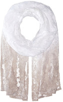 Betsey Johnson Ombre Lace Wrap