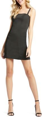 Mac Duggal Square Neck Mini Dress