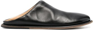 Marsèll Round-Toe Leather Mules