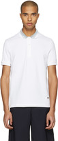 Missoni White Contrast Collar Polo