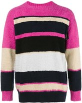 Sacai colour block jumper