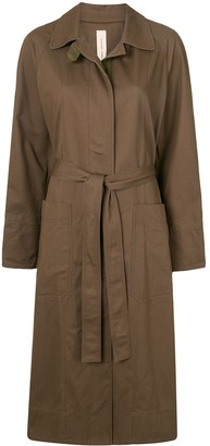 Lee Mathews Drill belted trench coat