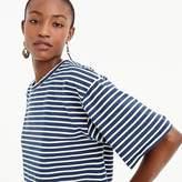 J.Crew Boxy striped T-shirt