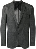 HUGO BOSS woven blazer - men - Spandex/Elastane/Cupro/Viscose - 48