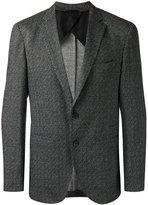 HUGO BOSS woven blazer - men - Spandex/Elastane/Cupro/Viscose - 54